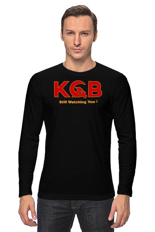 купить Лонгслив Printio Kgb russia по цене 1205 рублей