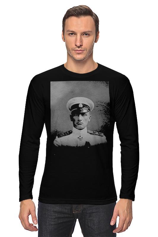Лонгслив Printio Адмирал колчак александр васильевич колчак адмирал колчак протоколы допроса