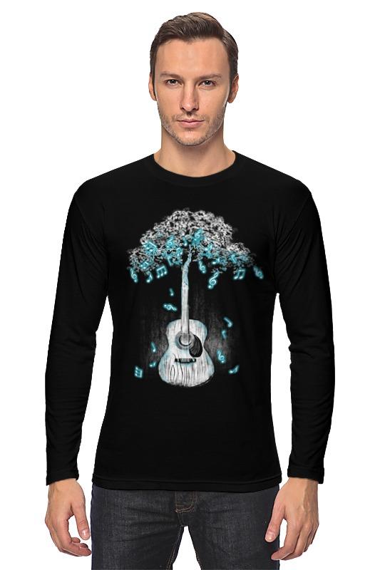 Лонгслив Printio Музыкальное дерево