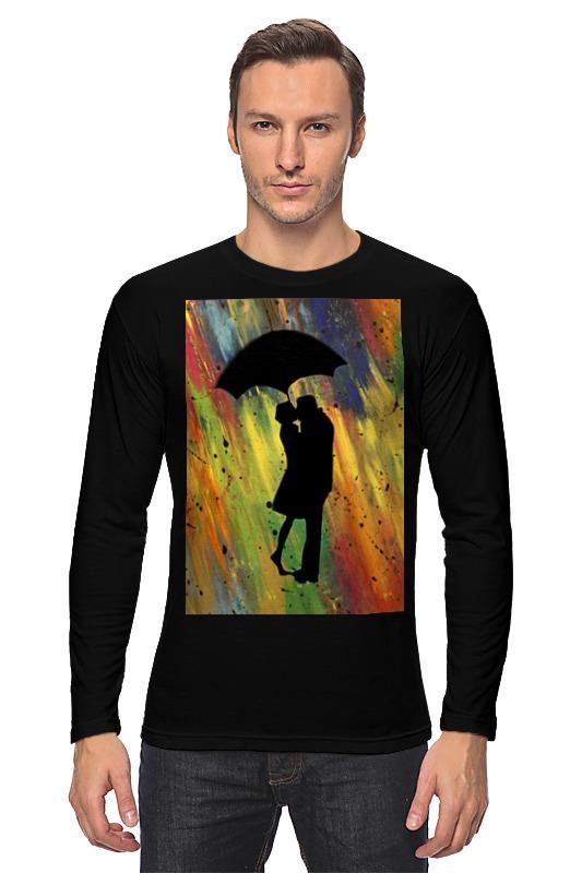 Лонгслив Printio Двое под дождём мария викторовна корчагина под лондонским дождём