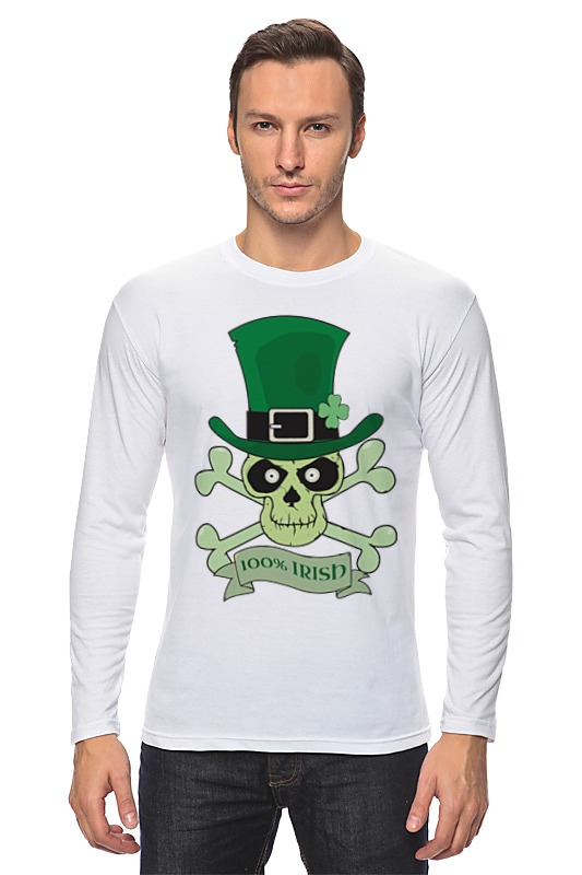 Printio Настоящий ирландец (100% irish) цена и фото