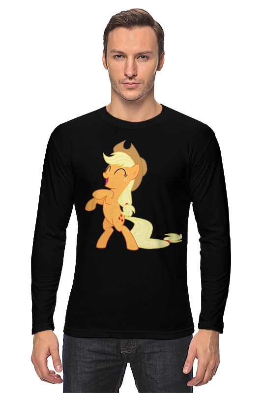 Лонгслив Printio Applejack fun лонгслив printio my dad fun stuff