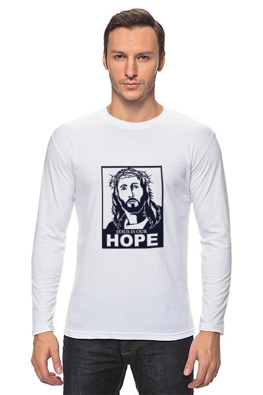 Лонгслив Printio Иисус - наша надежда надежда дмитриевна гуськова основы