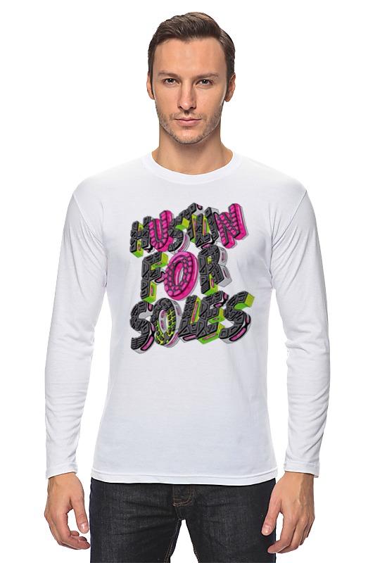 Лонгслив Printio Hustlin for soles толстовка wearcraft premium унисекс printio hustlin for soles