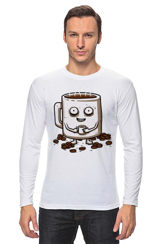 Лонгслив Printio Кофе (coffee) лонгслив printio tristrams coffee diablo