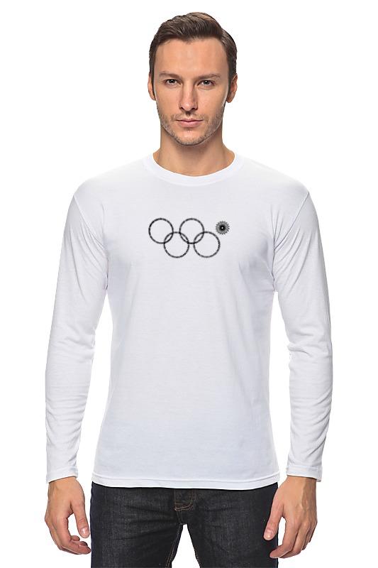 Лонгслив Printio Нераскрывшееся кольцо сочи 2014 билеты на открытие олимпийских игр 2014