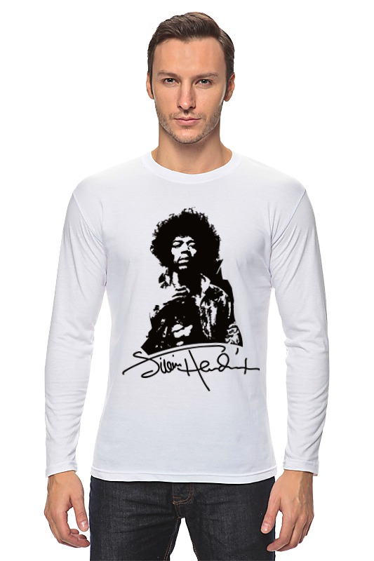 Лонгслив Printio Jimi hendrix плектр dunlop jimi hendrix 12 medium