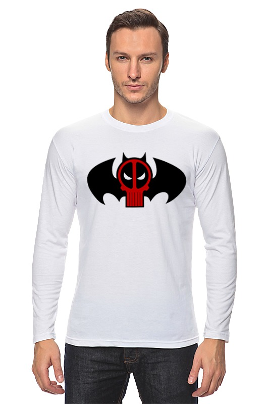 Лонгслив Printio Deadpool x batman лонгслив printio batman x mario