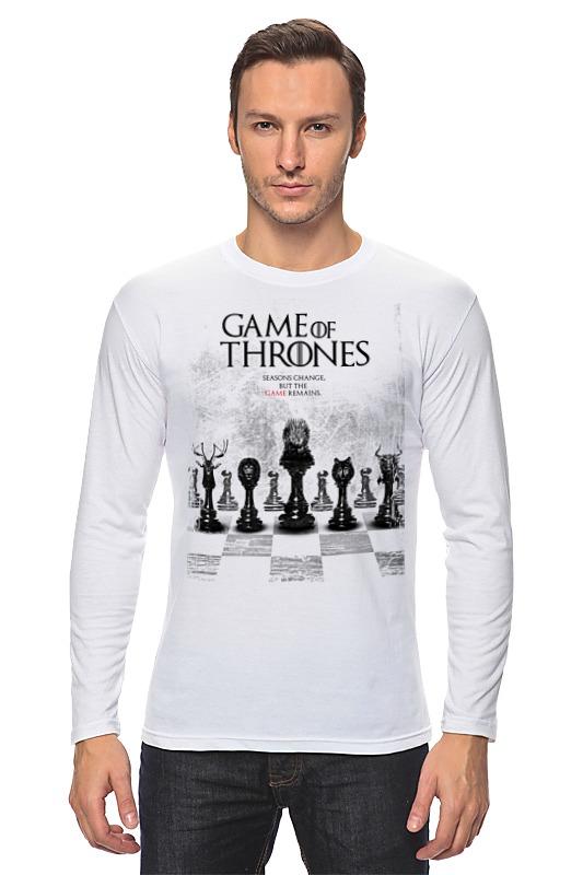 Лонгслив Printio Game of thrones - игра престолов r12 sexy game