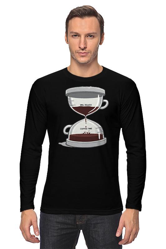 Лонгслив Printio Coffee time / время кофе лонгслив printio время чая