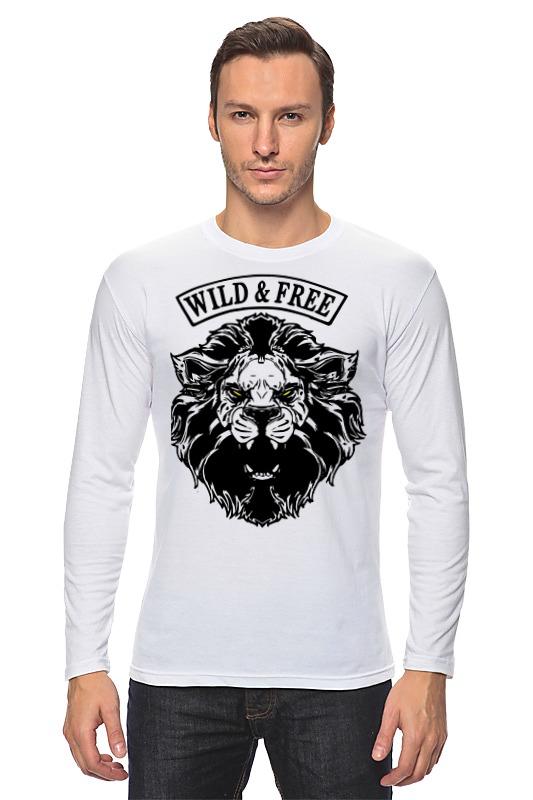 Лонгслив Printio Wild & free дикость 4 оргия