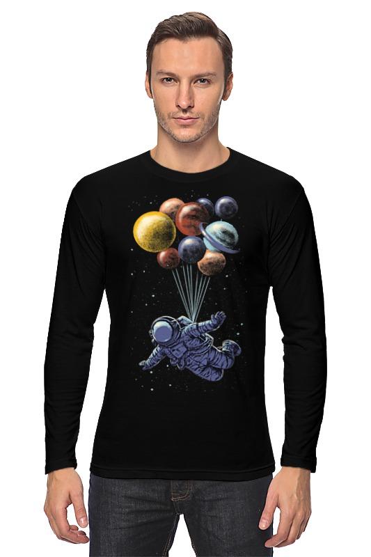 Лонгслив Printio Космический полёт книги эксмо последний космический шанс