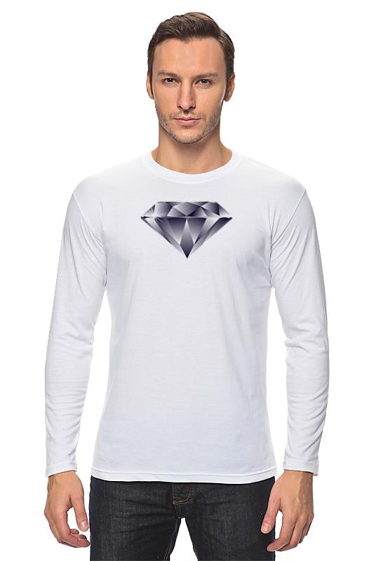 Лонгслив Printio Алмаз алмаз алмаз 1020
