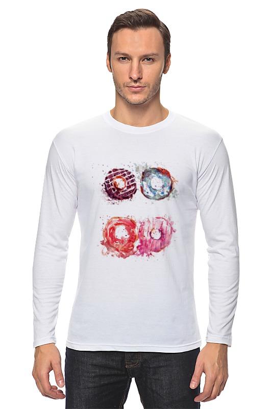 Лонгслив Printio Пончики! donuts сумка printio пончики donuts