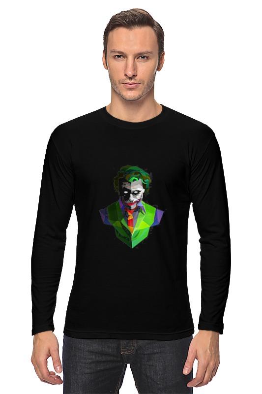 Лонгслив Printio Джокер костюм страшного клоуна детский 30 32