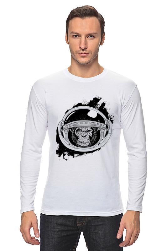 Лонгслив Printio Space monkey (космическая обезьяна) лонгслив printio космо кот space cat