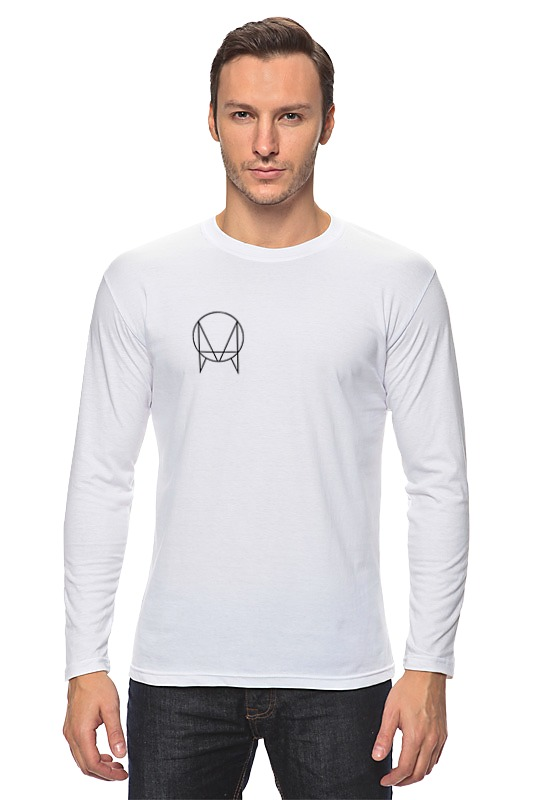 Лонгслив Printio Owsla t-shirt jadefuture white grizzly territory t shirt [large] white