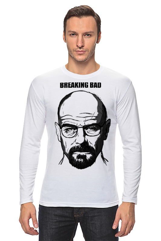 Лонгслив Printio Breaking bad цены онлайн