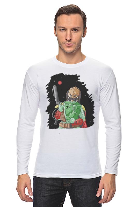 Лонгслив Printio Хищник х боба фетт футболка классическая printio хищник х боба фетт