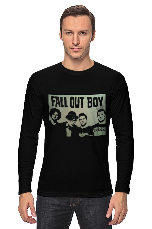 Лонгслив Printio Fall out boy худи print bar fall out boy