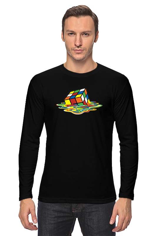 Лонгслив Printio Кубик рубика (шелдон) кружка printio кубик рубика
