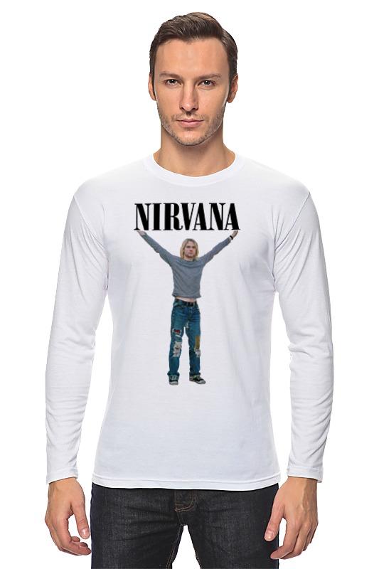 Лонгслив Printio Nirvana nirvana