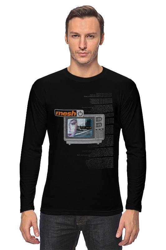 Лонгслив Printio Mesh / adjust your set black mesh applique lingerie set