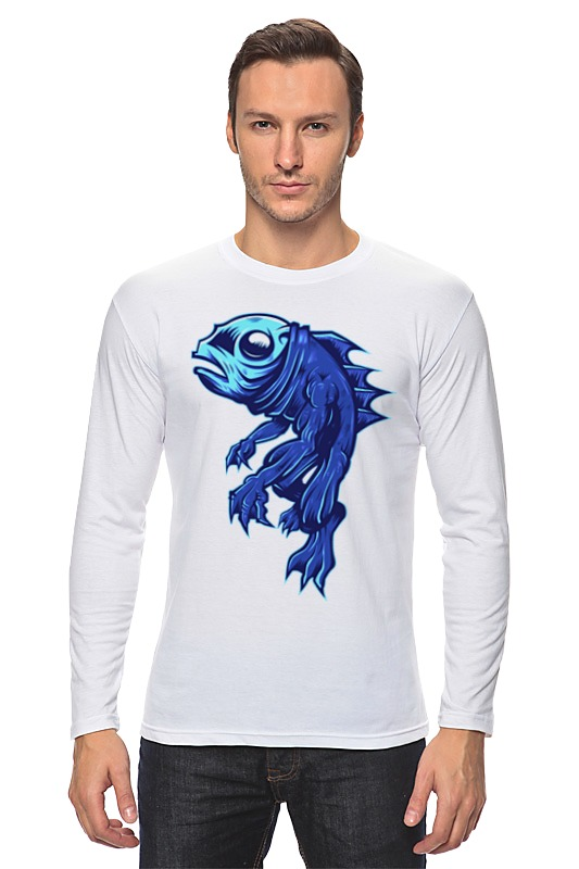 Лонгслив Printio Рыбка лонгслив printio рыбка 2