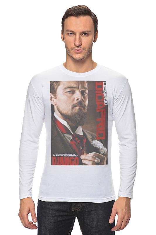 Лонгслив Printio Django unchained - di caprio футболка классическая printio django unchained di caprio