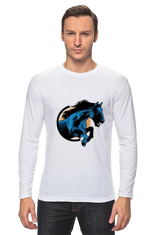 Лонгслив Printio Лошадь как правильно лошадь ганновер
