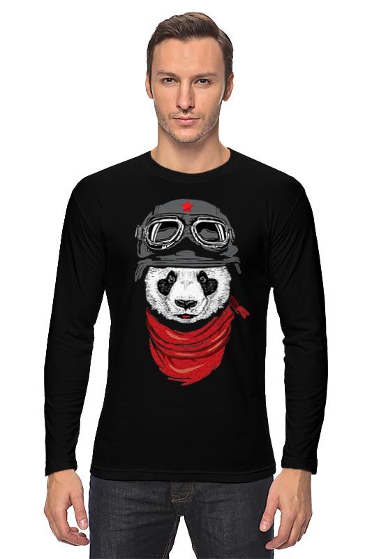 Лонгслив Printio Soviet panda