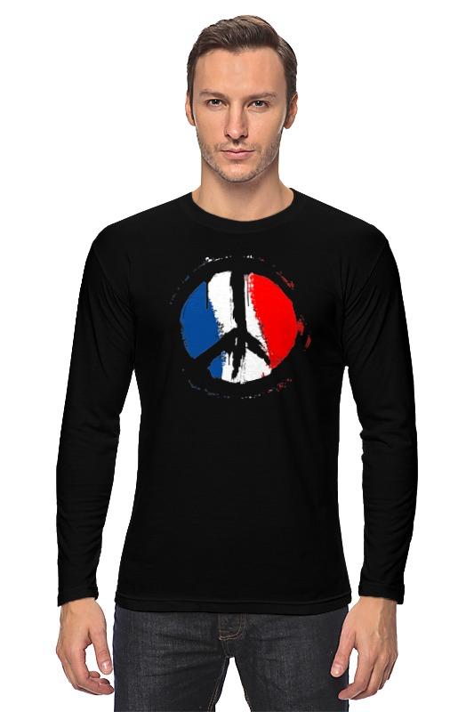 Лонгслив Printio Мир парижу (peace for paris) human rights as means for peace