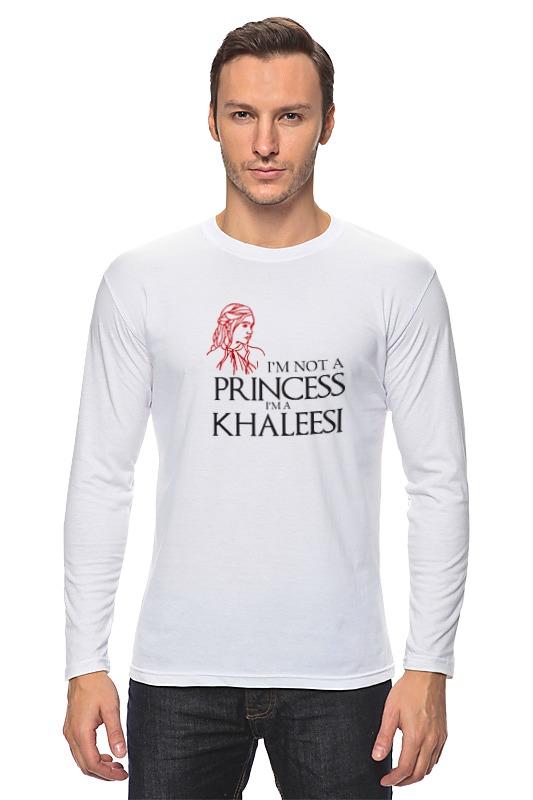 Лонгслив Printio Игра престолов (game of thrones) khaleesi a game of thrones