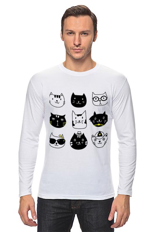 Лонгслив Printio Милые котики