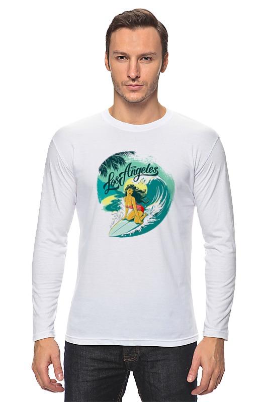 Лонгслив Printio Лос-анжелес футболка wearcraft premium printio лос анжелес