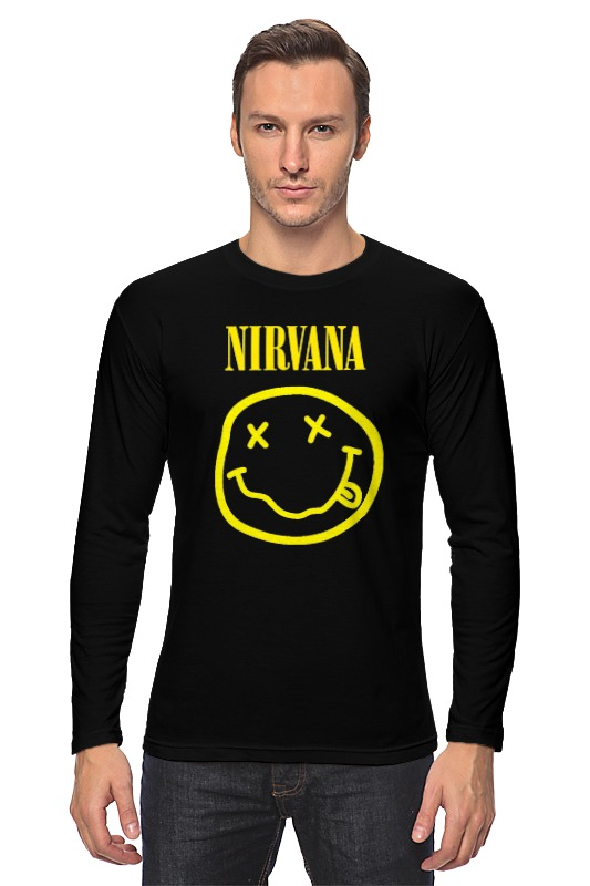 Лонгслив Printio Nirvana