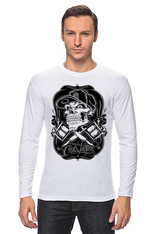 Лонгслив Printio Skull худи print bar skull