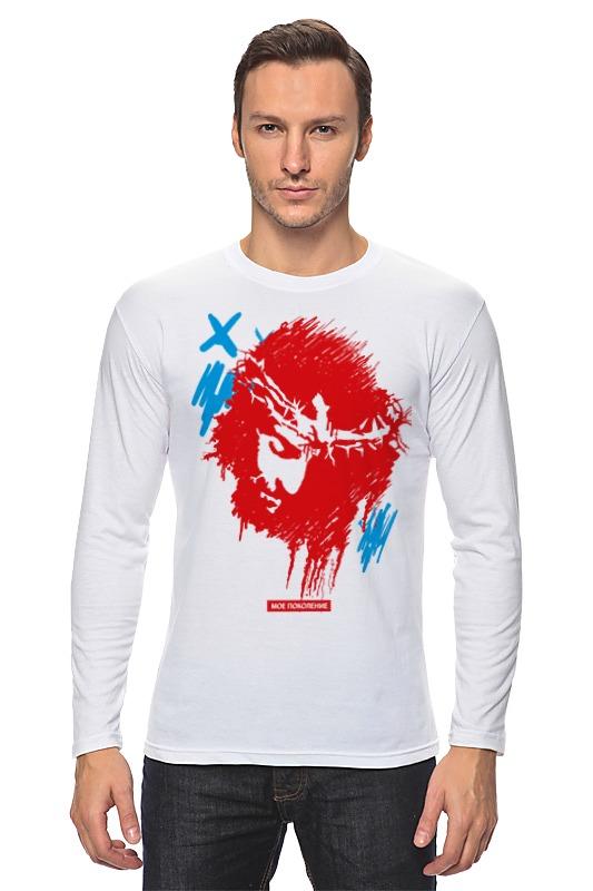 Лонгслив Printio Исус - jesus футболка wearcraft premium printio исус jesus
