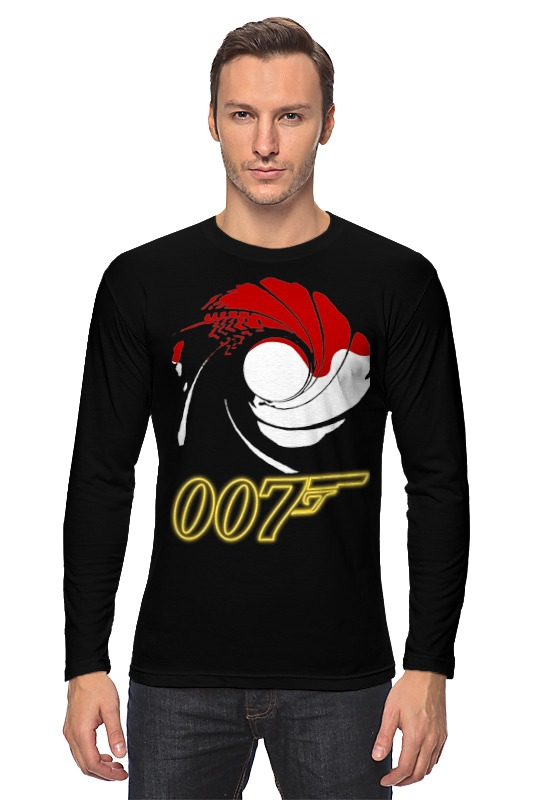 Лонгслив Printio James bond
