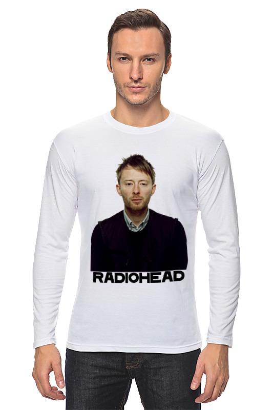 Лонгслив Printio Radiohead блокнот printio radiohead