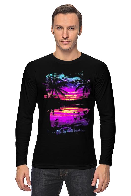 все цены на Лонгслив Printio Пляжный рай онлайн