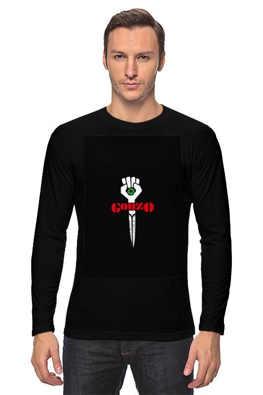 Лонгслив Printio Gonzo футболка классическая printio gonzo