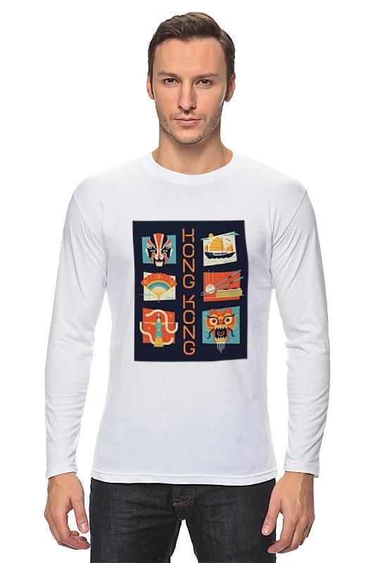 Лонгслив Printio Гонг-конг 2 детская футболка классическая унисекс printio гонг конг 2