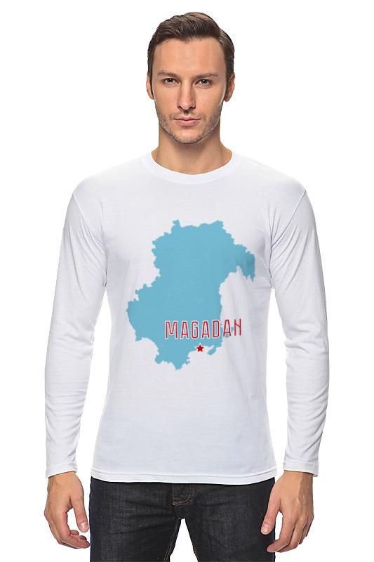 Лонгслив Printio Магаданская область. магадан футболка рингер printio 9 мая магадан