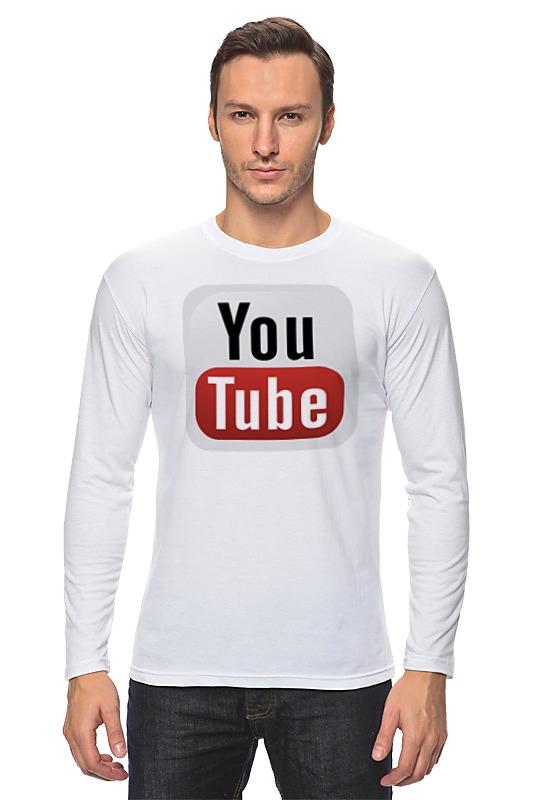 Лонгслив Printio Youtube кепка printio youtube