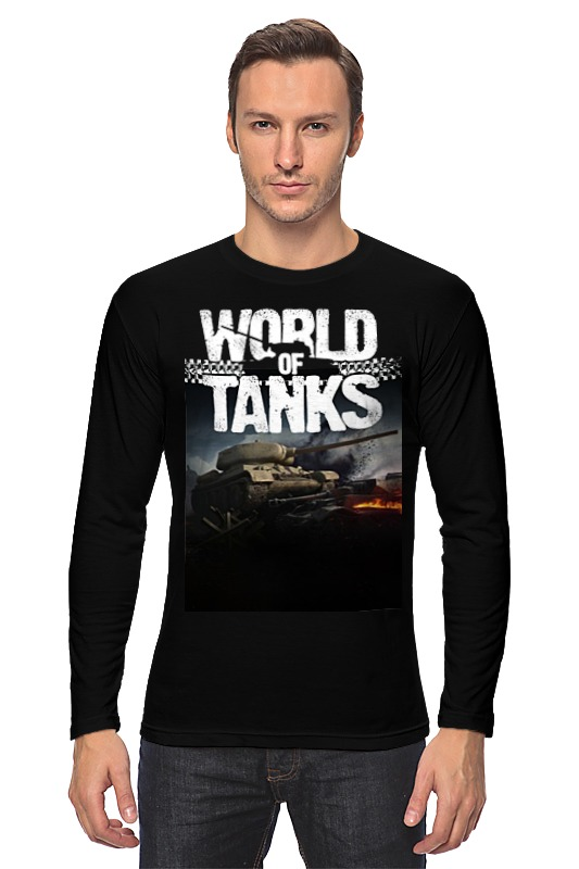 Лонгслив Printio World of tanks официальный сайт world of tanks для андроид