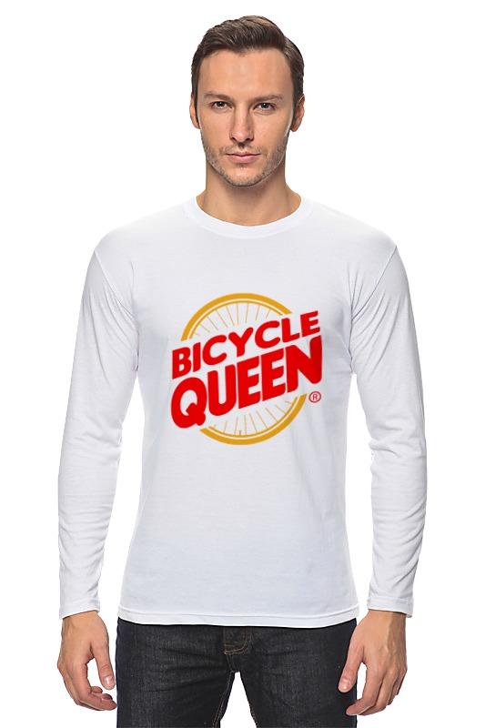 Лонгслив Printio Велосипедная королева лонгслив printio снежная королева
