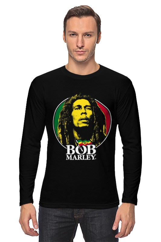 Лонгслив Printio Bob marley лонгслив printio bob marley