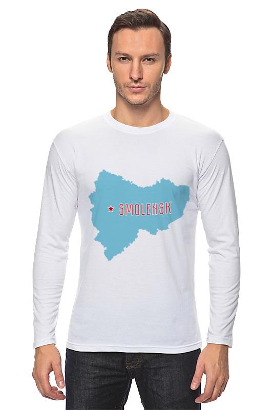 Лонгслив Printio Смоленская область. смоленск