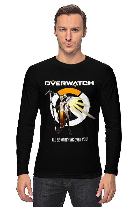 Лонгслив Printio Overwatch. ангел футболка классическая printio overwatch ангел